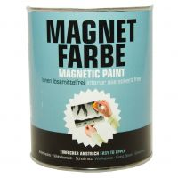 Milacor Magnetfarbe Lösemittelfreie matte Polymerdispersion