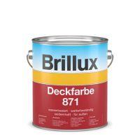 Brillux Deckfarbe 871 Hoch Wetterbeständige Wetterschutzfarbe