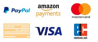 Zahlungsarten Logos
