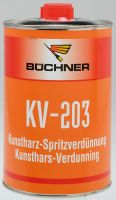 Büchner KV 203 Kunstharz Verdünnung
