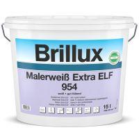 Brillux Malerweiß Extra ELF 954 Decken und Wandfarbe